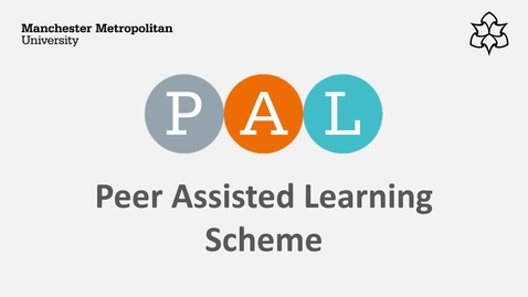 Thumbnail for entry Learn about Peer Assisted Learning (PAL)