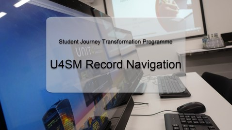 Thumbnail for entry Record Navigation Admissions