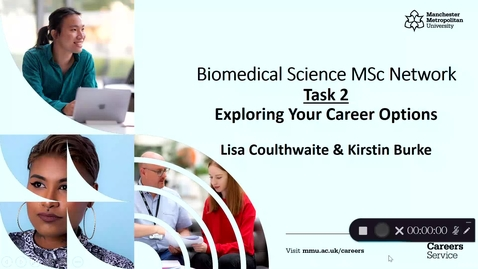 Thumbnail for entry Biomedical Science MSc Network   Task 2 Exploring Your Career Options