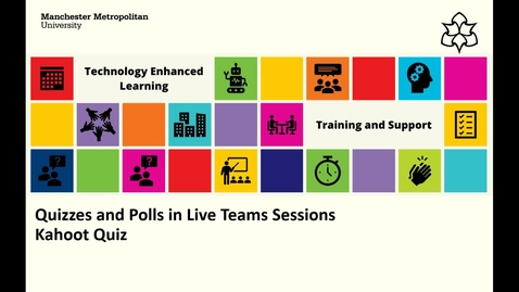 Thumbnail for entry Quizzes and Polls in Live Teams Sessions - Kahoot