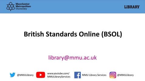 Thumbnail for entry British Standards Online