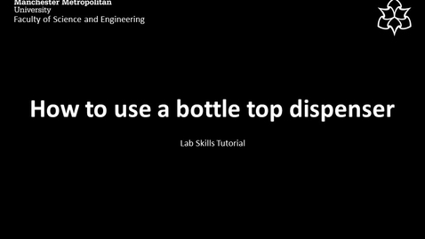 Thumbnail for entry How to use a bottle top dispenser