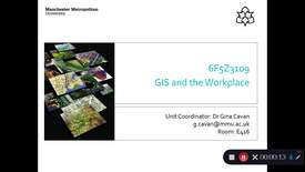 Thumbnail for entry 6F5Z3109 GIS and the Workplace