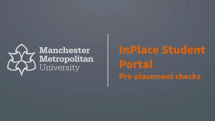 InPlace Student Portal: Pre-Placement Checks
