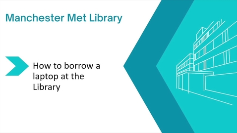 Thumbnail for entry How to borrow a laptop at the Library