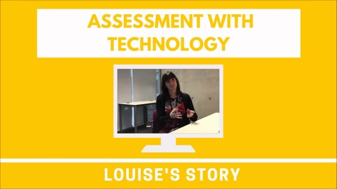 Thumbnail for entry Louise's Story: Using Sway as a portfolio tool