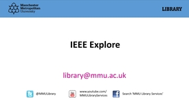 Thumbnail for entry IEEE Explore