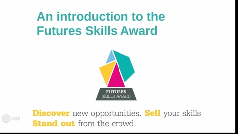 Thumbnail for entry Future Skills Award_Induction Video