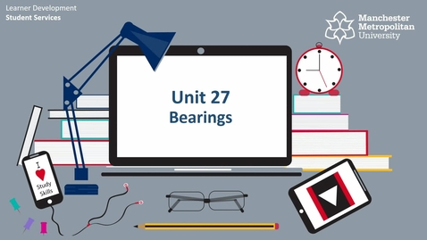 Thumbnail for entry Topic 27 - Bearings (Intro & How To)