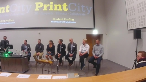 Thumbnail for entry Industry 4.0 In Action - Discussion Panel - Business and Innovation