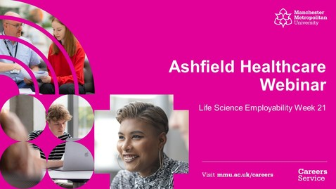 Thumbnail for entry #LSEW21 Ashfield Healthcare Webinar