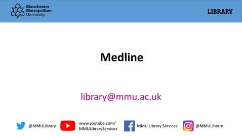 Thumbnail for entry Medline