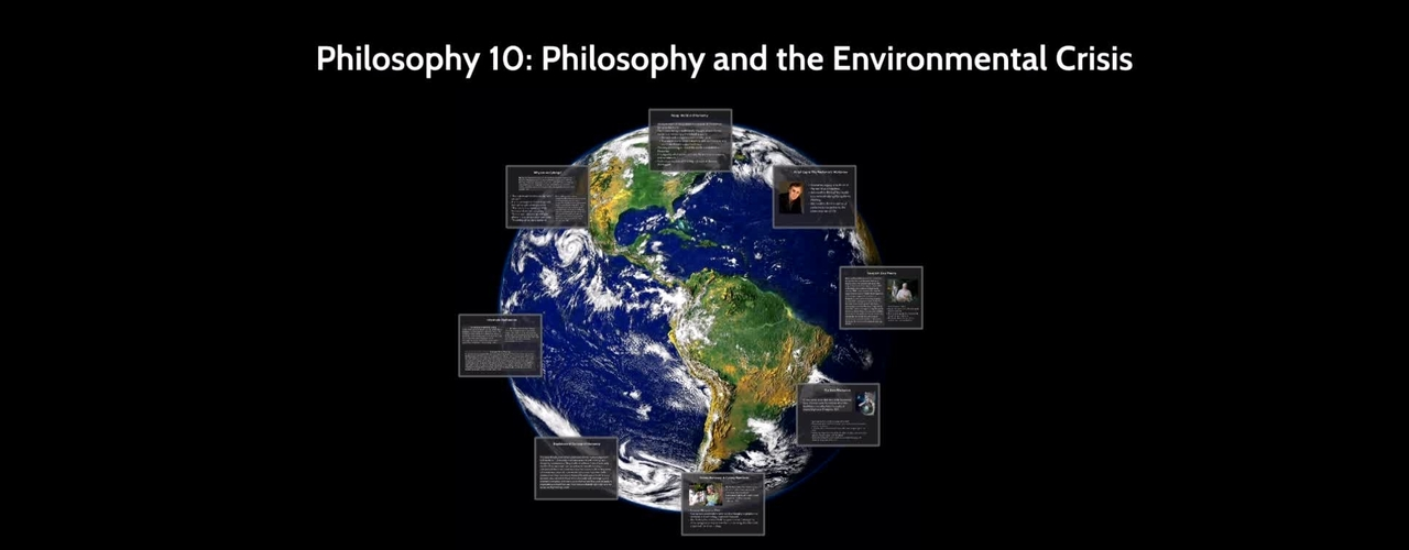 UCW10 - Philosophy and the Environmental Crisis