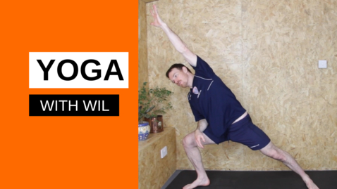 Thumbnail for entry Yoga with Wil - Session 1
