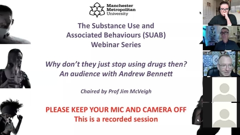 Thumbnail for entry SUAB Webinar: Making the case for trauma and ACE informed substance use services