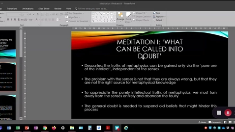 Thumbnail for entry Meditation I Podcast 3