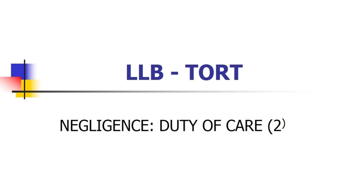 Podcast No. 3 Duty of care (2)