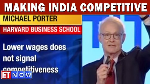 Thumbnail for entry Michael Porter On Making India Competitive