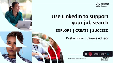 Thumbnail for entry Use LinkedIn To Support Your Job Search