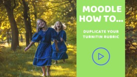Thumbnail for entry How to duplicate a Turnitin rubric
