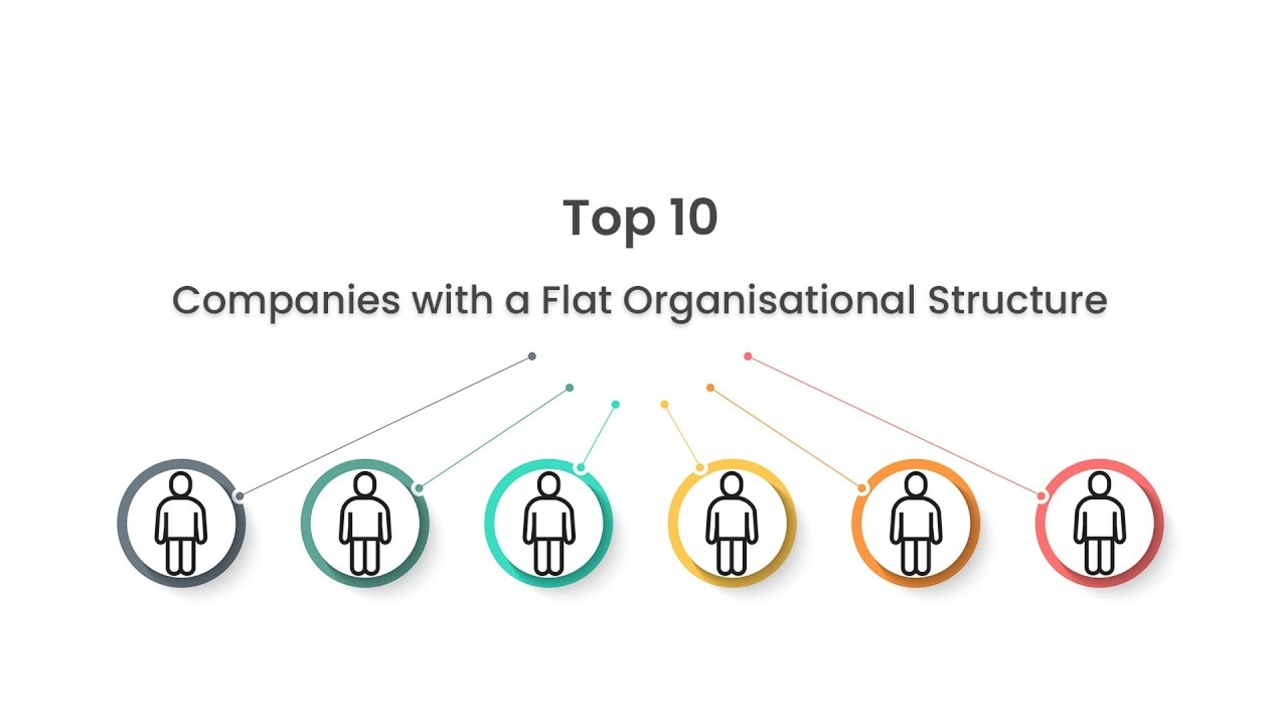 Top 10 Companies with a Flat Organisational Structure