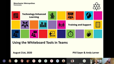 Thumbnail for entry MS Teams: Microsoft Whiteboard and Interactive Tools