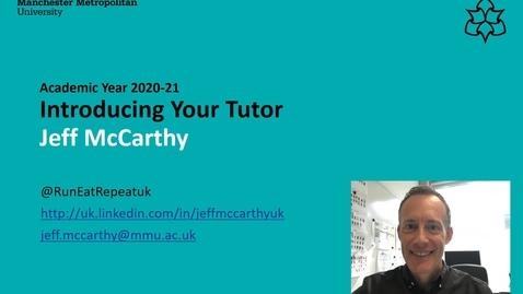 Thumbnail for entry Tutor-intro-Jeff-McCarthy