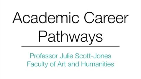 Thumbnail for entry Professor Julie Scott-Jones