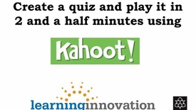 Thumbnail for entry Kahoot
