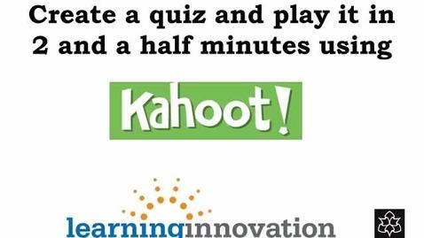 Thumbnail for entry Kahoot