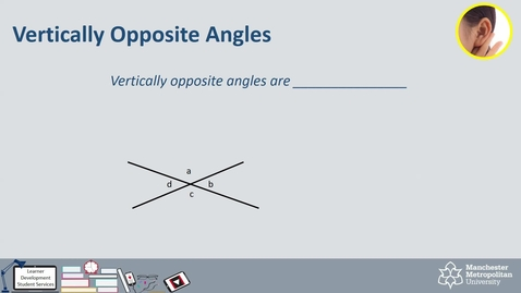 Thumbnail for entry Topic 25 - Angle Properties (Intro & How To)