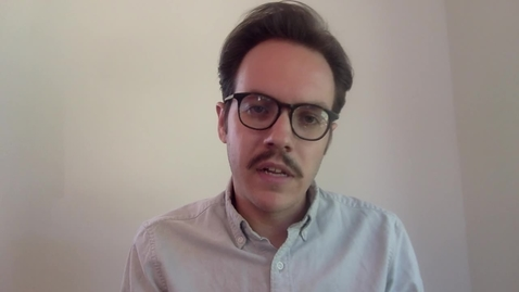 Thumbnail for entry Meet Matt Trowbridge, Business Research Librarian