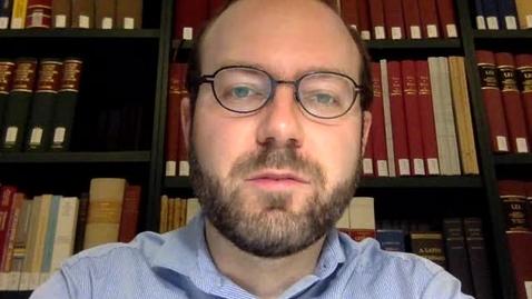 Thumbnail for entry Meet Nicholas Herman, Medieval Studies Bibliographer and Curator of Manuscripts