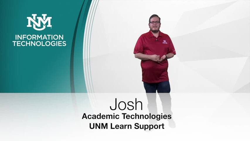 About Virtual Proctoring in UNM Learn :: UNM Learn Help