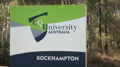 Thumbnail for entry Central Queensland University Webisode / Halfway around the world in 33 days