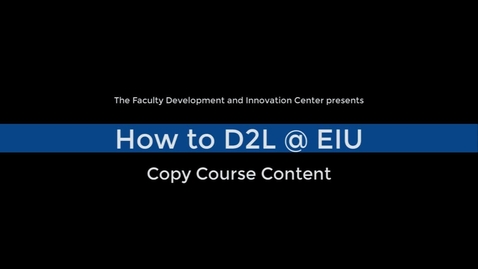 Thumbnail for entry How to Copy Course Content