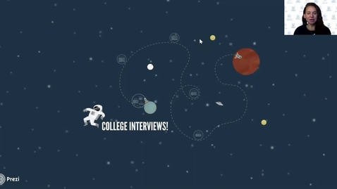 Thumbnail for entry College Interviews Fall 2020