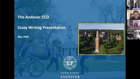 Thumbnail for entry Essay Writing Presentation