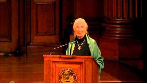 Thumbnail for entry Dr. Jane Goodall at Phillips Academy: Protecting Our Natural World