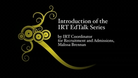 Thumbnail for entry An Introduction of the IRT EdTalk Series