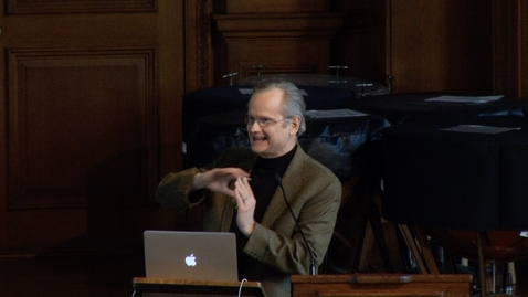 Thumbnail for entry ASM 2015 05-06 - Lawrence Lessig