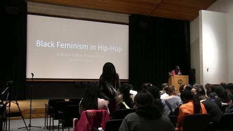Thumbnail for entry Amiri Tulloch Brace Fellow Presentation