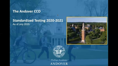 Thumbnail for entry CCO Standardized Testing Plan_2020-2021