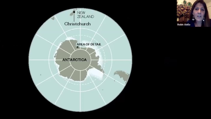 Penguins & Parkas – 4 months living on & under Antarctic Ice.  Robin Aiello PA '80
