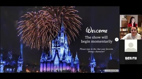Thumbnail for entry Magic Kingdom?: Deconstructing the Politics of Citizenship and Memory in Disney's America - CAMD Scholar Sophia Hlavaty