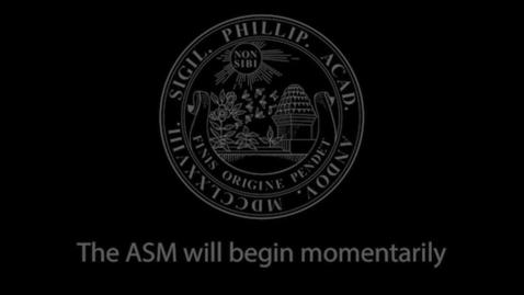 Thumbnail for entry ASM 2020 10-26 Alumni Award of Distinction