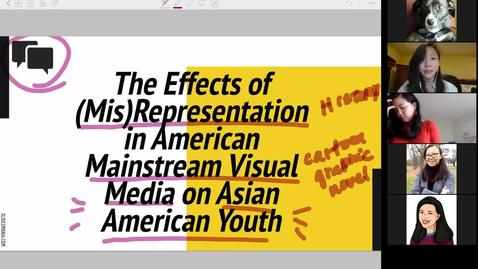 Thumbnail for entry The Effects of (Mis)Representation in Visual Media on Asian American Youth - CAMD Scholar Natalie Shen