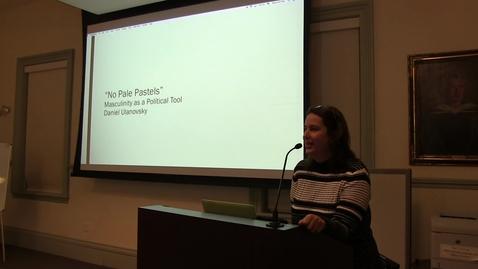 Thumbnail for entry Dan Ulanovsky Brace Fellow presentation