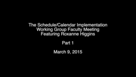 Thumbnail for entry Roxanne Higgins Part 1
