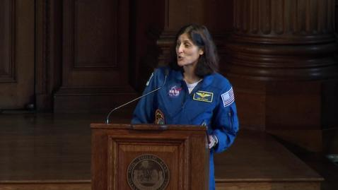 Thumbnail for entry ASM 2014 04-16 Sunita Williams